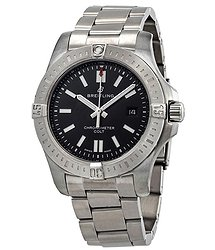 Breitling Chronomat Colt Automatic Chronometer Black Dial Men's Watch