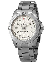 Breitling Chronomat Colt Automatic Chronometer Silver Dial Men's Watch