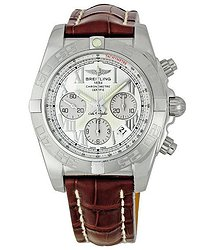 Breitling Chronomat Ladies Chronograph Watch AB011011-G676BRLD