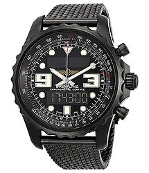 Breitling Chronospace Blacksteel Analog-Digital Multi-Function Men's Watch