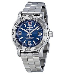 Breitling Colt 33 Blue Dial Ladies Watch