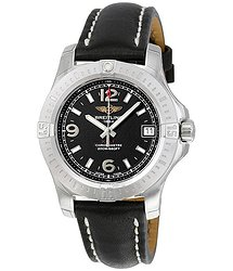 Breitling Colt 36 Black Dial Ladies Watch