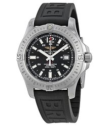 Breitling Colt Automatic Black Dial Black Rubber Men's Watch A1738811-BD44BKPD3