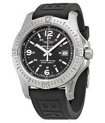 Breitling Colt Black Dial Black Rubber Men's Watch A7438811-BD45BKPT3