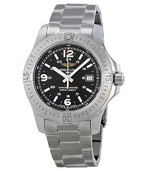 Breitling Colt Black Dial Stainless Steel Men's Watch A7438811-BD45SS