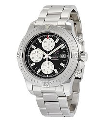 Breitling Colt Chronograph Automatic Black Dial Stainless Steel Men's Watch A1338811-BD83SS