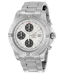 Breitling Colt Chronograph Automatic Stratus Silver Dial Men's Watch A1338811-G804SS