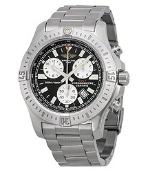 Breitling Colt Chronograph Black Dial Men's Watch A7338811-BD43SS