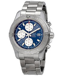 Breitling Colt Volcano Mariner Blue Dial Automatic Men's Chronograph Watch