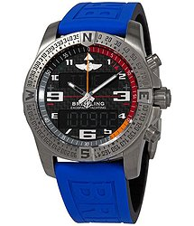 Breitling Exospace Yachting Perpetual Calander Chronograph Titanium Black Carbon Fiber Dial Men's Watch