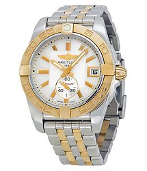 Breitling Galactic 36 Automatic Mother of Pearl Dial Stainless Steel and 18kt Gold Watch