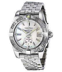 Breitling Galactic 36 Mother of Pearl Dial Stainless Steel Unisex Watch