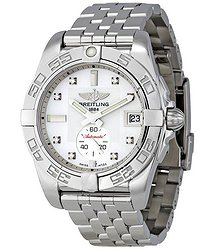 Breitling Galactic 36 Mother of Pearl Diamond Dial Unisex Watch