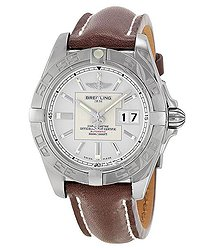 Breitling Galactic 41 Automatic Chronometer Silver Dial Men's Watch