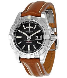 Breitling Galactic 41 Black Dial Men's Watch A49350L2-BA07BRLD