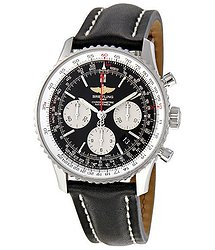 Breitling Navitimer 01 Chronograph Black Dial Men's Watch