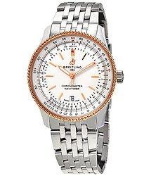 Breitling Navitimer 1 Automatic Silver Dial Men's Watch