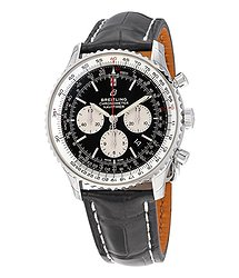 Breitling Navitimer 1 B01 Black Chronograph Dial Automatic Men's Watch
