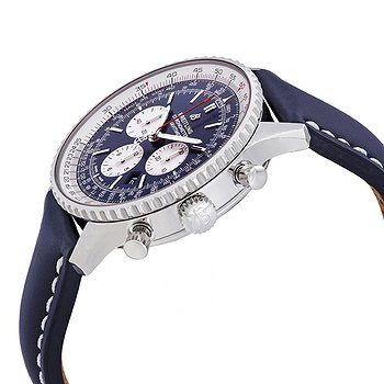 Купить часы Breitling Navitimer 1 Chronograph Automatic Chronometer Aurora Blue Dial Men's Watch  в ломбарде швейцарских часов