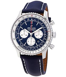 Breitling Navitimer 1 Chronograph Automatic Chronometer Aurora Blue Dial Men's Watch