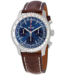 Breitling Navitimer 1 Chronograph Automatic Chronometer Blue Dial Men's Watch