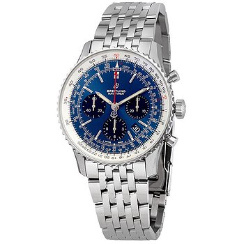 Купить часы Breitling Navitimer 1 Chronograph Automatic Chronometer Blue Dial Men's Watch  в ломбарде швейцарских часов
