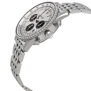 Купить часы Breitling Navitimer 1 Chronograph Automatic Chronometer Silver Dial Men's Watch  в ломбарде швейцарских часов
