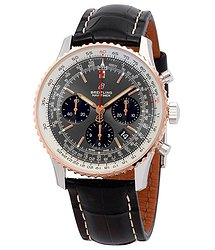 Breitling Navitimer 1 Chronograph Automatic Chronometer Stratos Gray Men's Watch