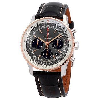 Купить часы Breitling Navitimer 1 Chronograph Automatic Chronometer Stratos Gray Men's Watch  в ломбарде швейцарских часов