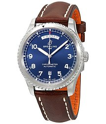 Breitling Navitimer 8 Automatic Chronometer Blue Dial Men's Watch