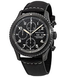 Breitling Navitimer 8 Chronograph Automatic Chronometer Black Dial Men's Watch