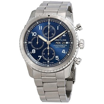 Купить часы Breitling Navitimer 8 Chronograph Automatic Chronometer Blue Dial Men's Watch  в ломбарде швейцарских часов