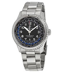 Breitling Navitimer 8 Unitime Automatic Black Dial Men's Watch