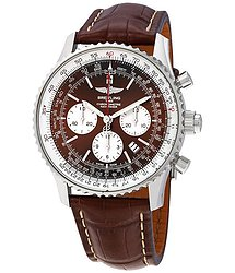 Breitling Navitimer Rattrapante Chronograph Automatic Panamerican Bronze Dial Men's Watch