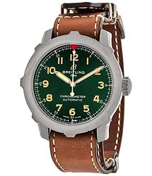 Breitling Navitimer Super 8 B20 Automatic Chronometer Green Dial Men's Watch