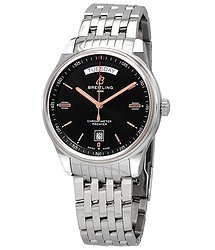 Breitling Premier Automatic Chronometer Black Dial Men's Watch