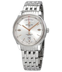 Breitling Premier Automatic Silver Dial Men's Watch
