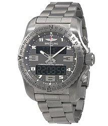Breitling Professional Cockpit Grey Dial Men's Watch EB5010B1-M532TI