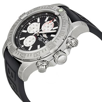 Купить часы Breitling Super Avenger II Chronograph Automatic Black Dial Black Rubber Men's Watch A1337111-BC29BKPT3  в ломбарде швейцарских часов