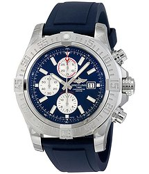 Breitling Super Avenger II Mariner Blue Dial Men's Watch