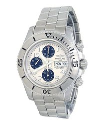Breitling Super Ocean Chronograph Steelfish Automatic Chronometer White Dial Men's Watch A13341