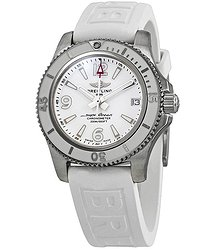 Breitling SuperOcean 36 Automatic White Dial Ladies Watch