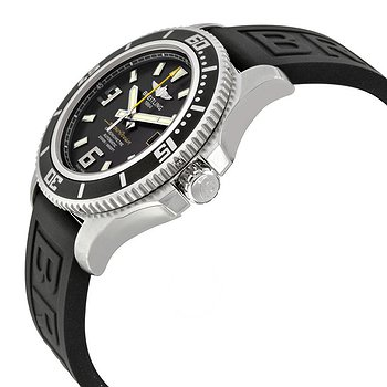 Купить часы Breitling Superocean 44 Automatic Black Dial Black Rubber Men's Watch A1739102-BA78BKPT3  в ломбарде швейцарских часов