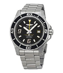 Breitling Superocean 44 Automatic Black Dial Men's Watch A1739102-BA78SS