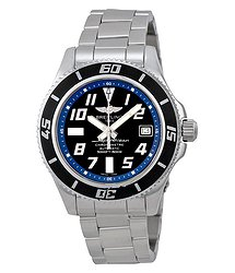 Breitling Superocean Abyss 42 Automatic Black Dial Men's Watch A1736402-BA3