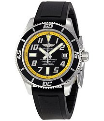 Breitling Superocean Abyss Black and Yellow Dial Automatic Men's Watch A1736402-BA32BKOD