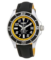 Breitling Superocean Automatic Black Dial Men's Watch