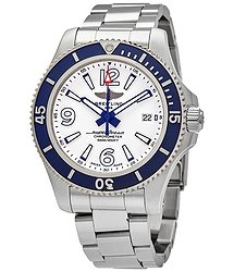 Breitling Superocean Automatic White Dial Men's Watch