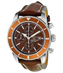 Breitling Superocean Chronograph Brown Dial Men's Watch A1332033-Q553BRLT