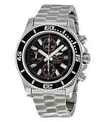Breitling Superocean Chronograph II Automatic Black Dial Men's Watch A13341A8-BA85